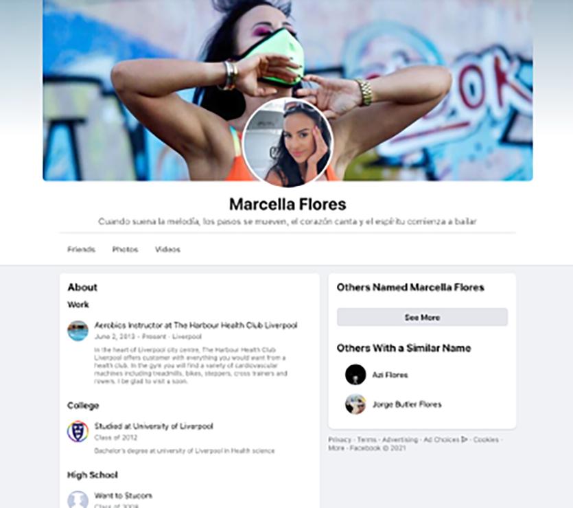 cybercriminele, social, Marcella Flores