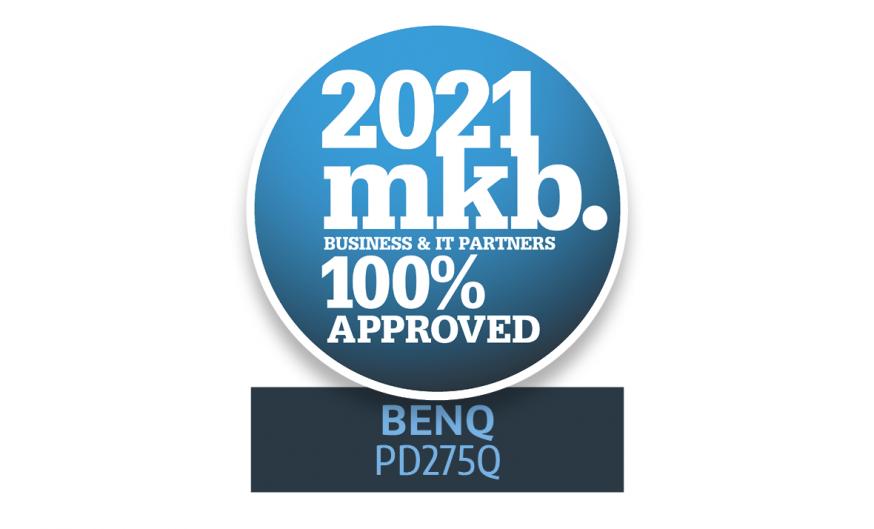 MKB Proof Awards 2021, BenQ, award, BenQ PD2705Q